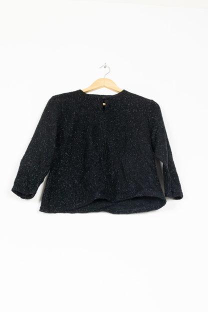 pull fin noir à paillettes (5)