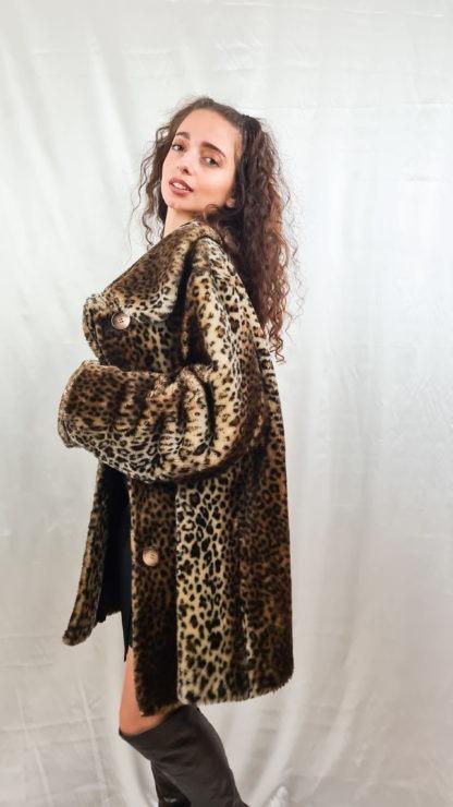 manteau en fausse fourrure léopard (2)