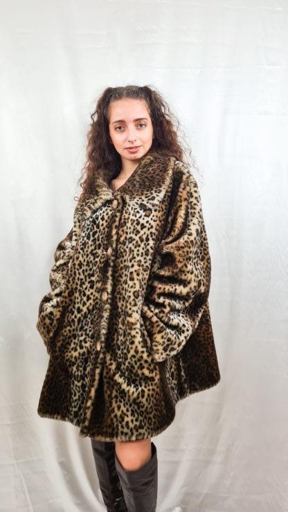 manteau en fausse fourrure léopard (3)
