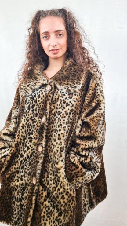 manteau en fausse fourrure léopard (4)