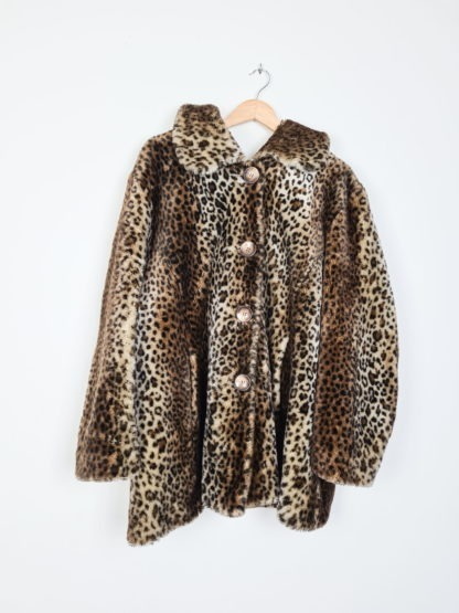 manteau en fausse fourrure léopard (5)