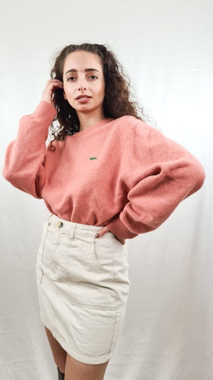 pull rose Lacoste (4)