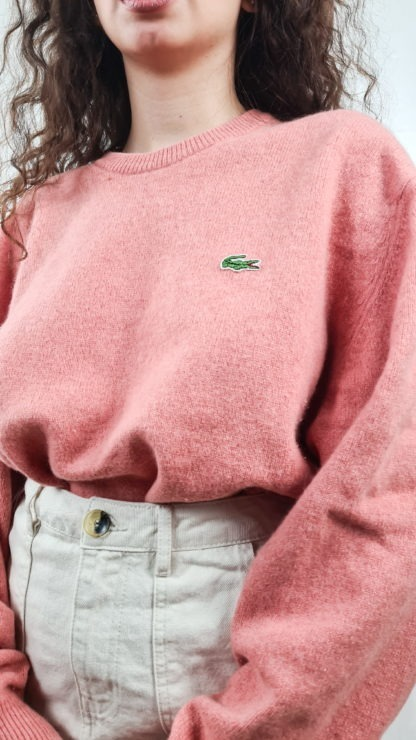 pull rose Lacoste (5)