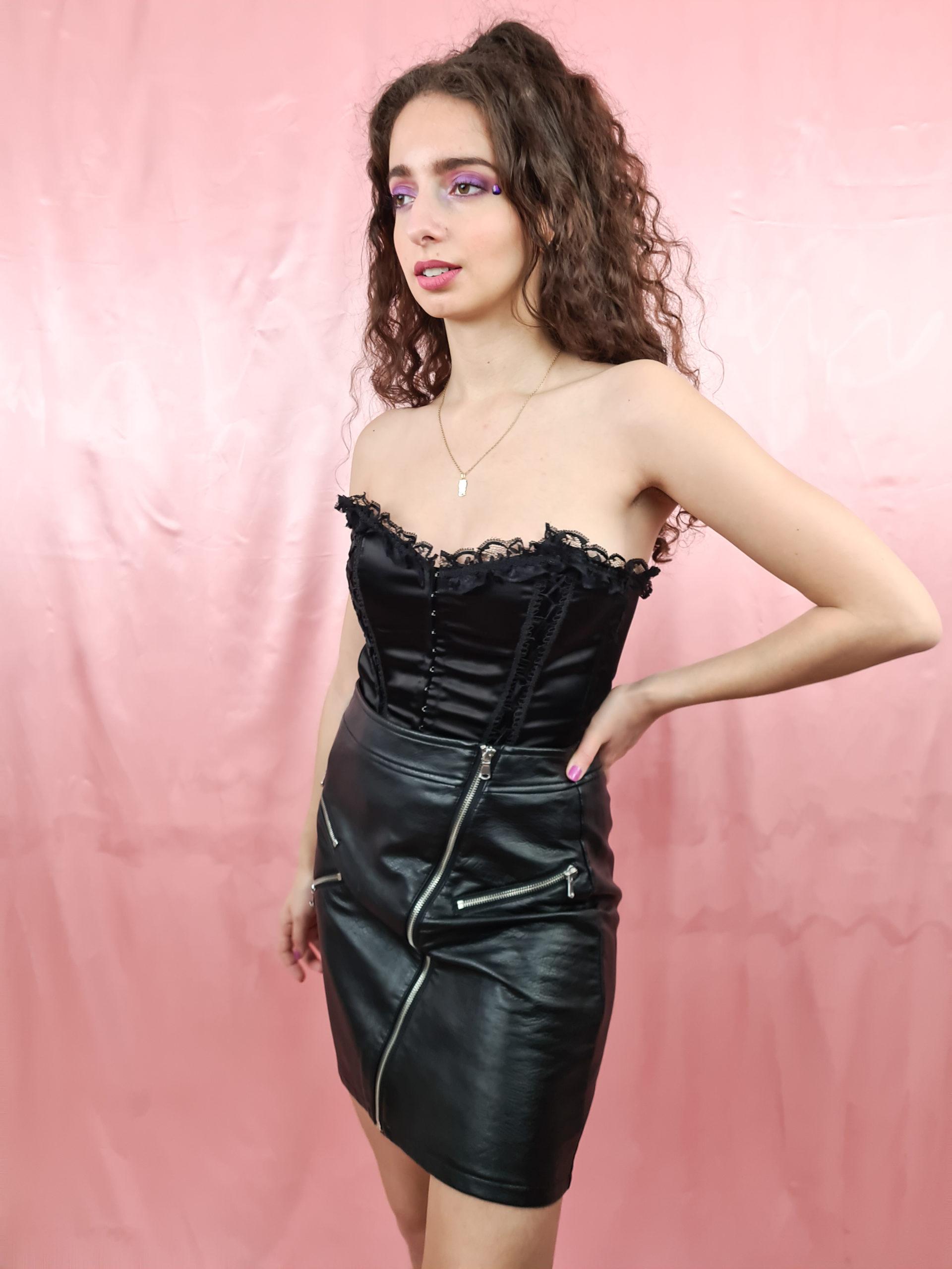 bustier noir satine dentelle (8)