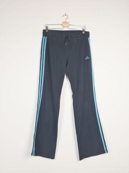 jogging adidas bandes turquoises (3)