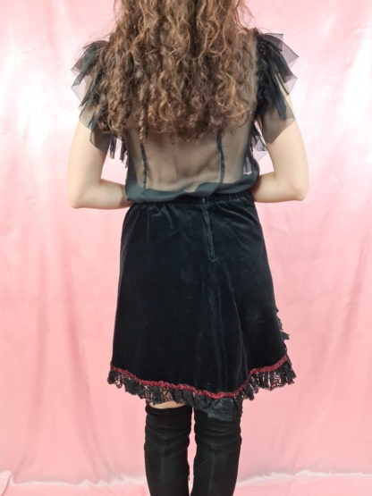 jupe en velours noire (3)