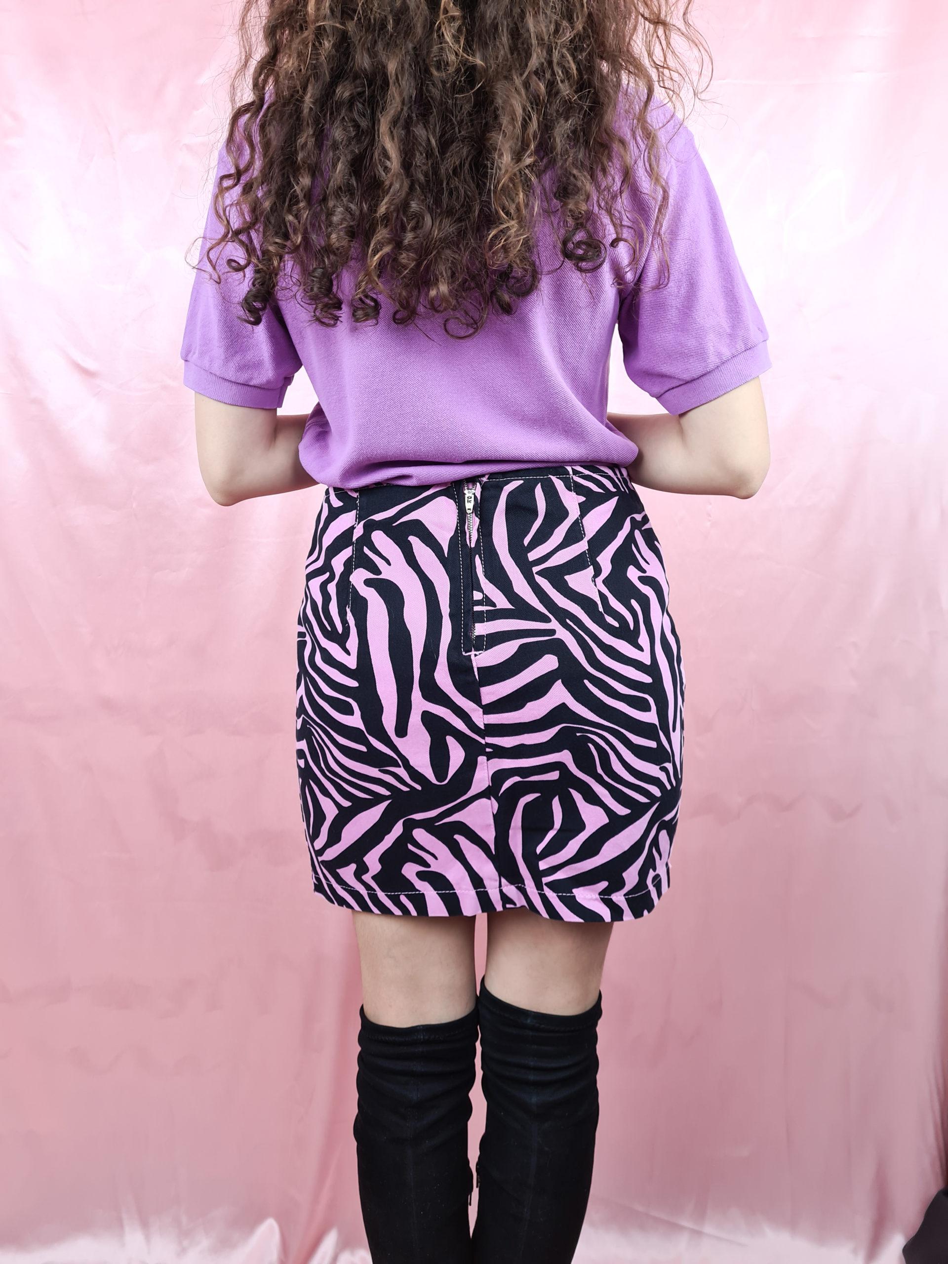 jupe rose zebre (3)