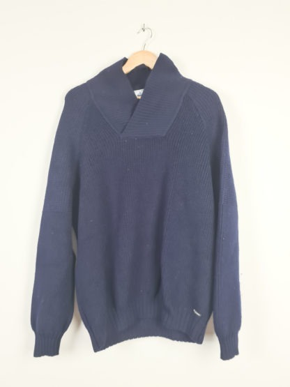 pull bleu marine maille Saint James (7)