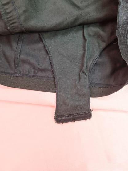 robe bustier moulante noire (6)