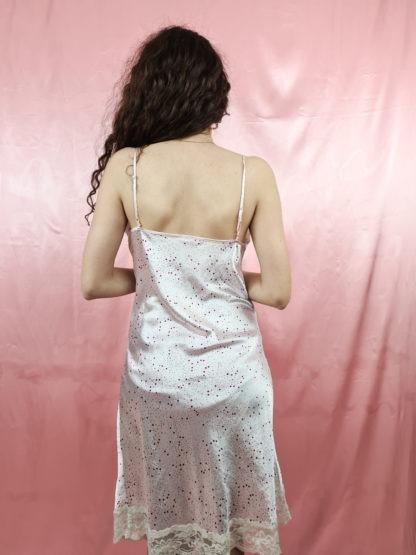 robe nuisette rose pastel noeud (5)
