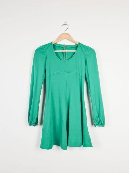 robe verte emeraude manches longues (6)