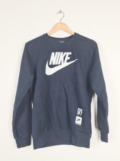 sweat noir Nike floqué (6)