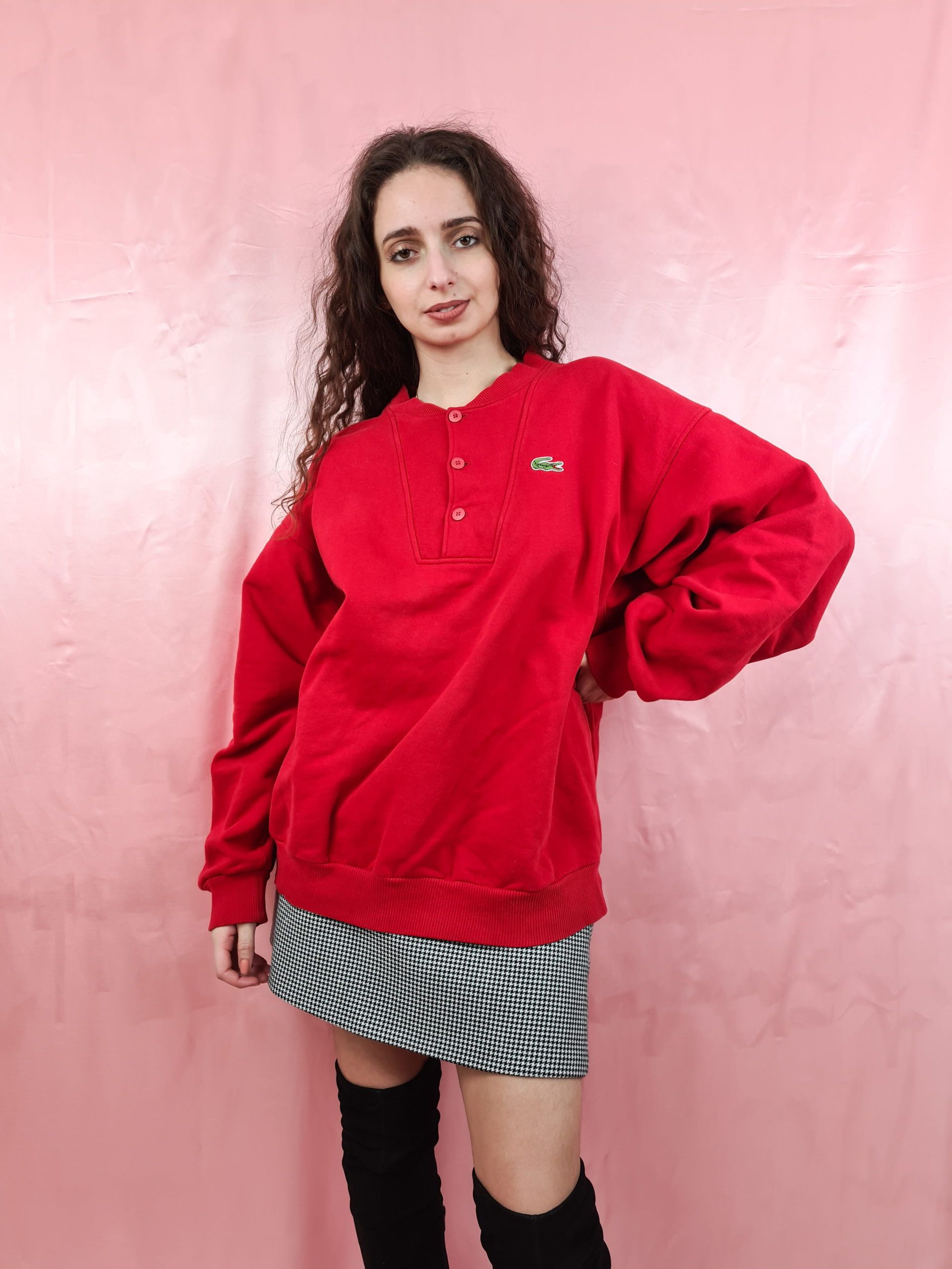 sweat rouge lacoste (7)