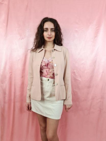 tailleur pantalon rose pale (2)