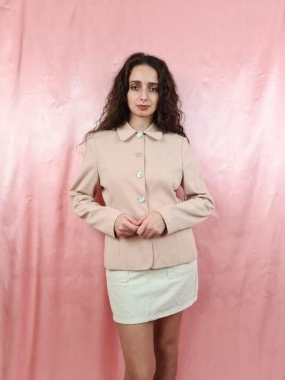 tailleur pantalon rose pale (3)