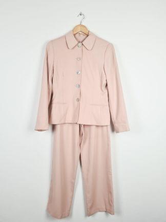 tailleur pantalon rose pale (6)