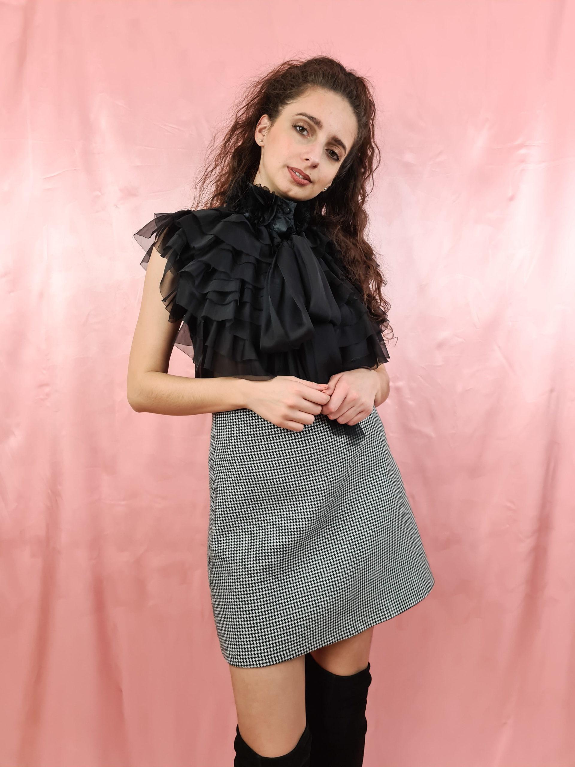 top noir transparent froufrou (3)