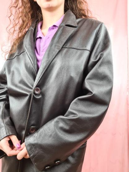 veste en cuir noir (5)