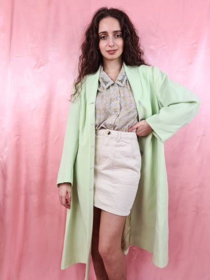 veste longue vert anis (3)