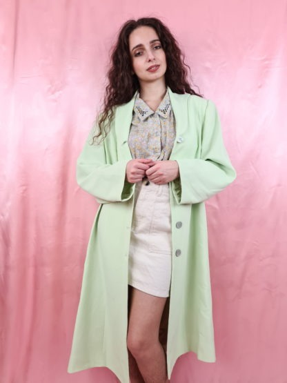 veste longue vert anis (4)