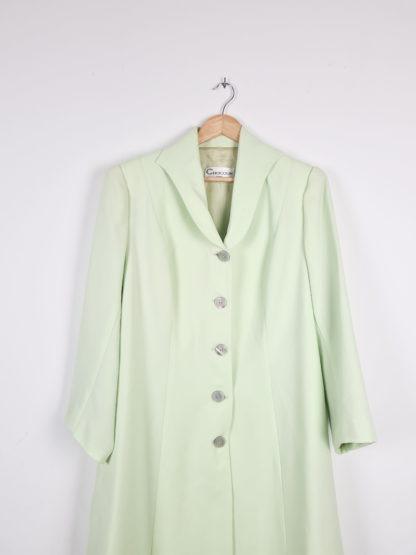 veste longue vert anis (6)