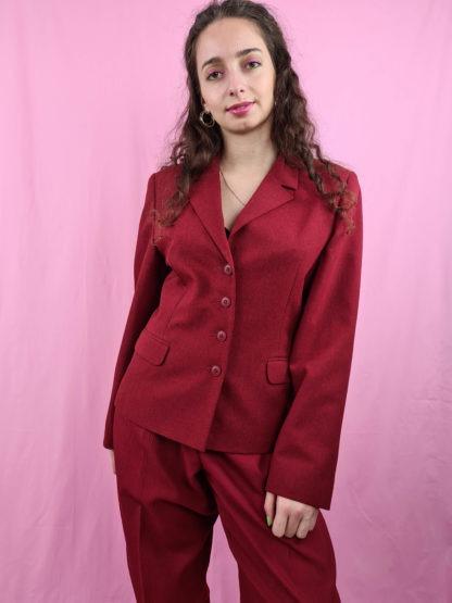 blazer rouge foncé (5)