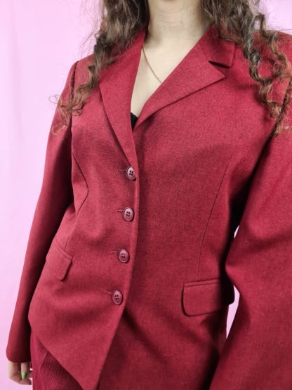 blazer rouge foncé (6)