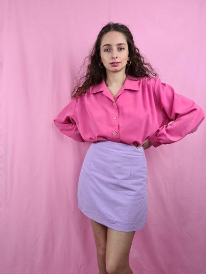 chemise fushia manches longues (2)