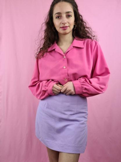 chemise fushia manches longues (3)