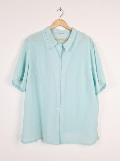 chemise vert d'eau manches courtes (8)