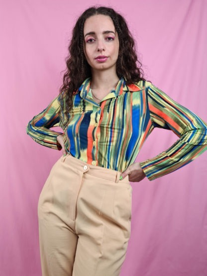 chemise vintage rayures 70s (3)