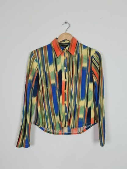 chemise vintage rayures 70s (6)