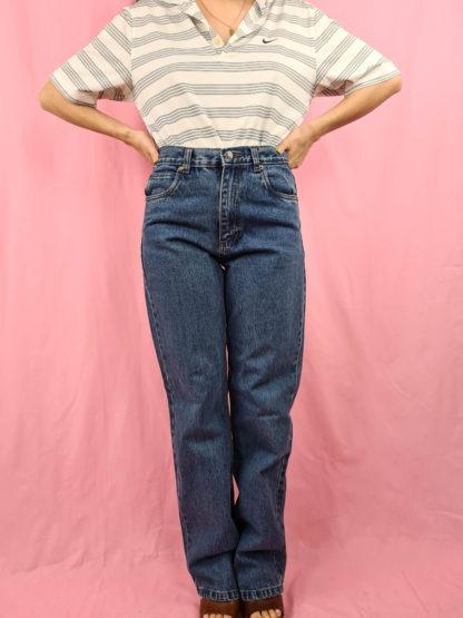 jean droit bleu Basic Concept (1)