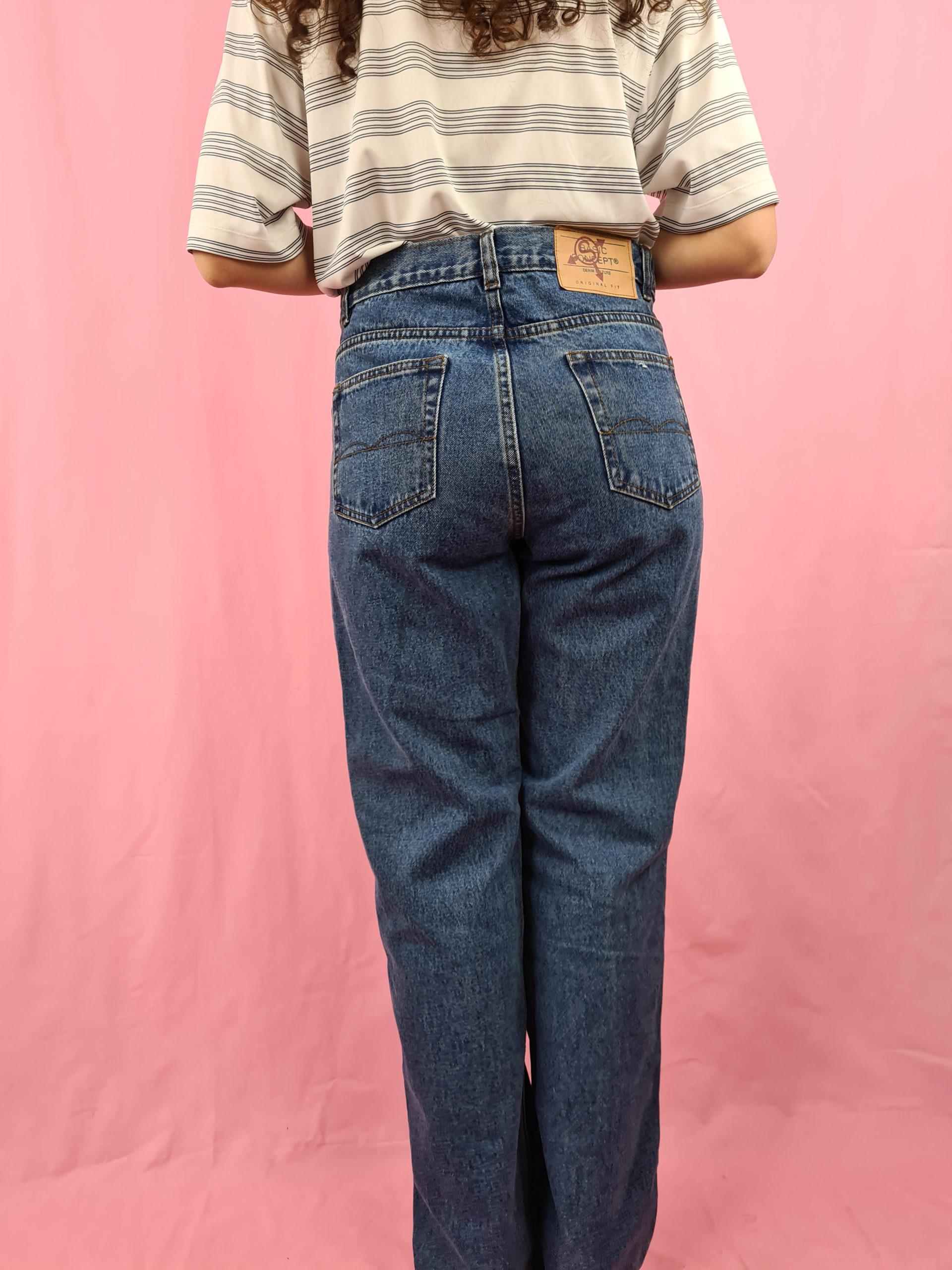 jean droit bleu Basic Concept (3)