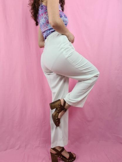 pantalon à pince blanc (4)
