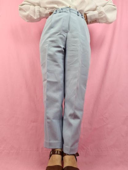 pantalon à pince bleu pastel (4)