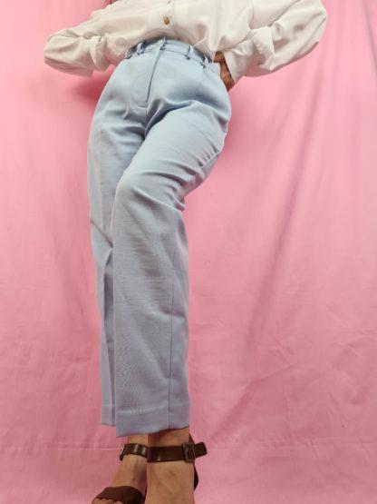pantalon à pince bleu pastel (5)