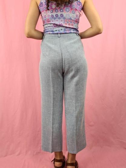 pantalon à pince bleu pastel chiné (4)