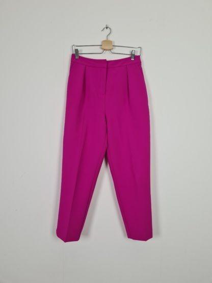 pantalon à pince fushia (2)