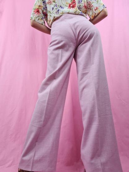 pantalon à pince rose pastel (8)