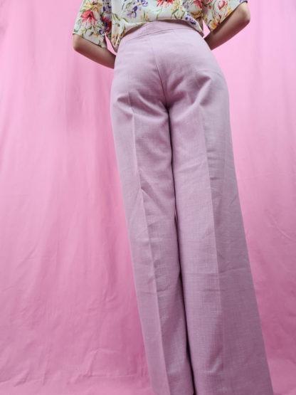 pantalon à pince rose pastel (9)