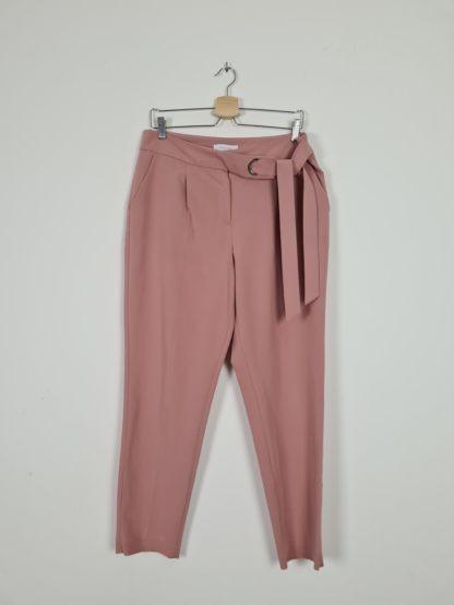 pantalon fluide vieux rose (5)