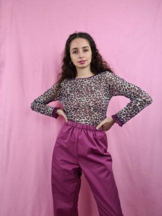 pantalon large mauve (1)