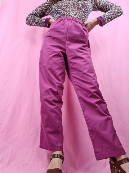 pantalon large mauve (2)
