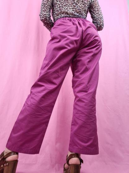 pantalon large mauve (4)