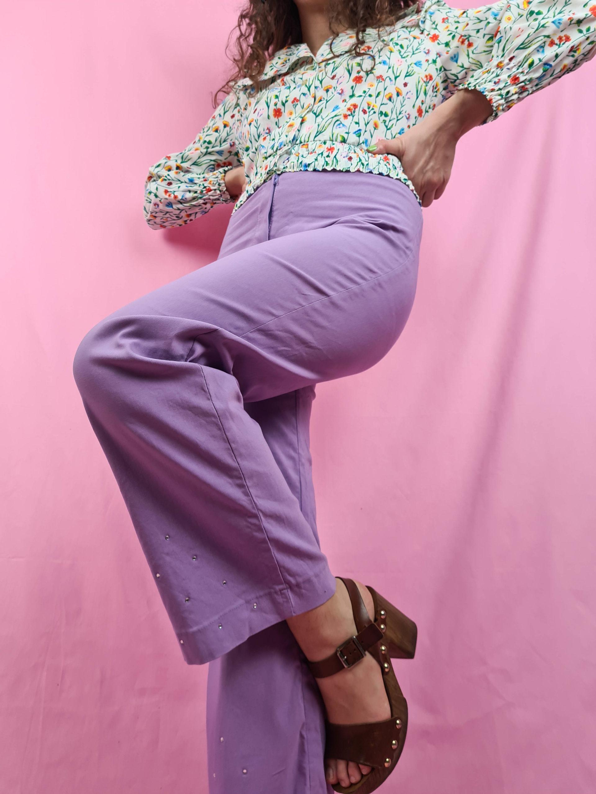 pantalon lilas patte d'eph 2000 (2)