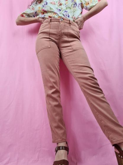pantalon slim orange pastel (1)