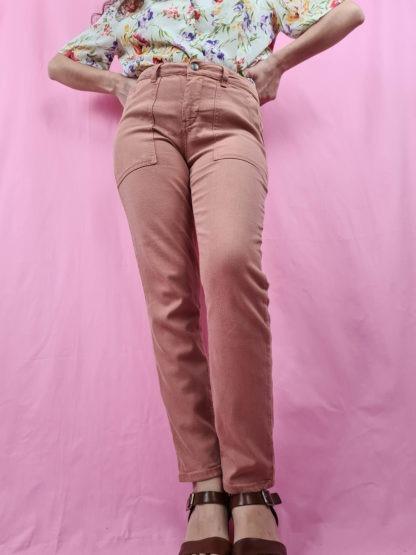 pantalon slim orange pastel (2)