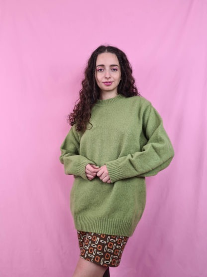 pull col montant vert anis (5)