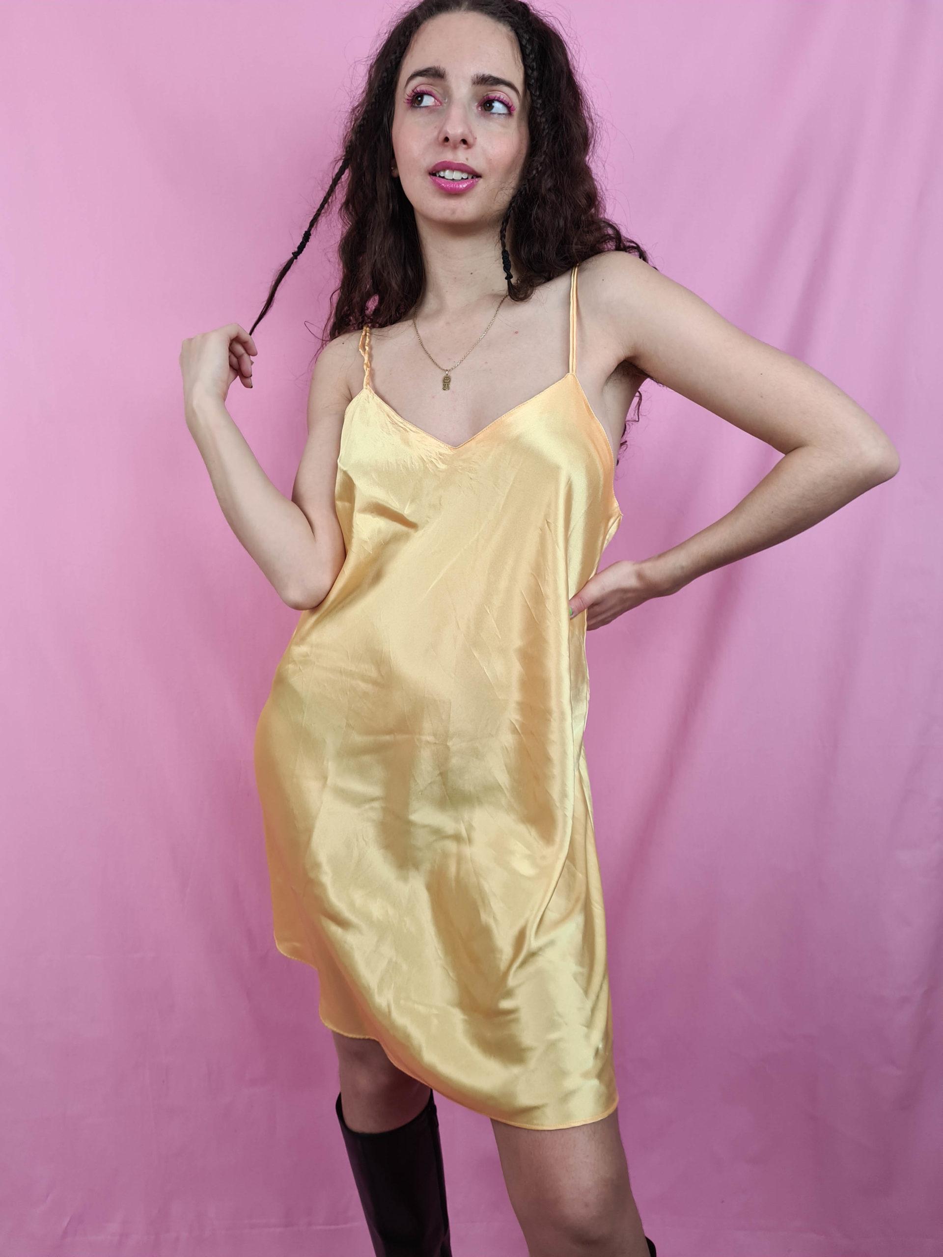 robe nuisette jaune (2)